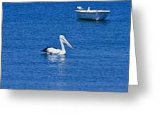 Floaters Greeting Card
