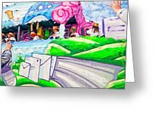 Floating Thru Mardi Gras 4 Greeting Card