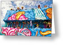 Floating Thru Mardi Gras Greeting Card by Steve Harrington