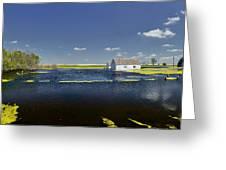 Flooded Farm Greeting Card