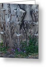Flora Among The Ruins Greeting Card