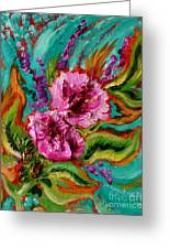 Flora Latino Greeting Card