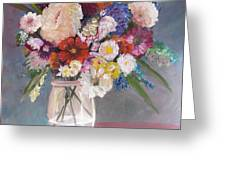 Floral # 2 Greeting Card