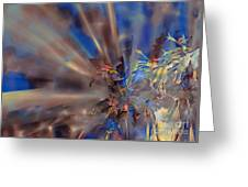 Floral ...  Abstract  Greeting Card