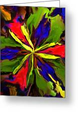 Floral Abstraction 090312 Greeting Card