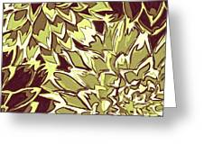 Floral Abstraction 19 Greeting Card
