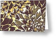 Floral Abstraction 21 Greeting Card