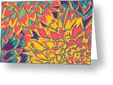 Floral Abstraction 22 Greeting Card