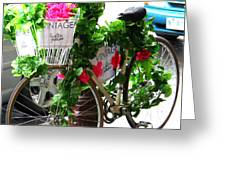 Floral Delivery Greeting Card