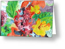 Floral Dream 3 Greeting Card