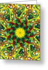 Floral Fantasy 071311 Greeting Card