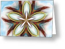 Floral Fantasy 090412 Greeting Card