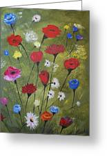 Floral Fields Greeting Card