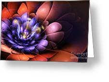 Floral Flame Greeting Card