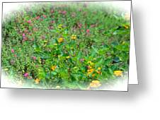 Floral Gardens Greeting Card