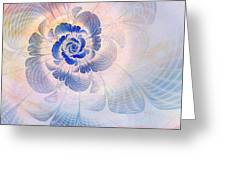 Floral Impression Greeting Card