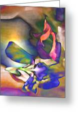 Floral Intimacy Greeting Card