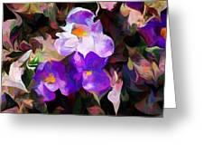 Floral Jam Greeting Card