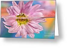 Floral 'n' Water Art 5 Greeting Card