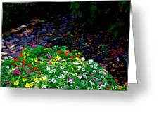 Floral Path Greeting Card