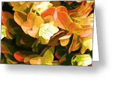 Floral Print Greeting Card