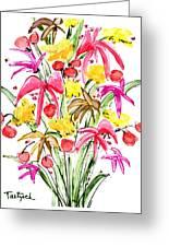 Floral Twelve Greeting Card