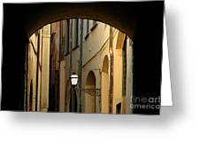 Florence Alley  Greeting Card