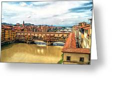 Florence Bridges II Greeting Card