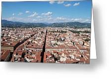 Florence From The Duomo Greeting Card