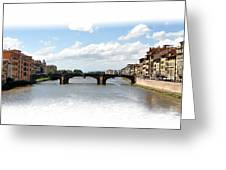 Florence Italy Pano Greeting Card