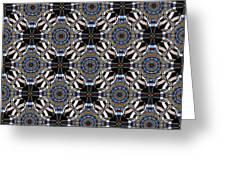 Florentine Colonnade Symmetry Greeting Card