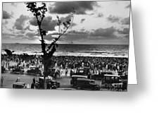 Florida: Miami Beach, 1927 Greeting Card