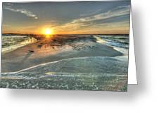 Florida Point Point Greeting Card