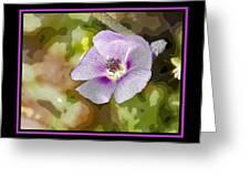 Flower 4 Greeting Card