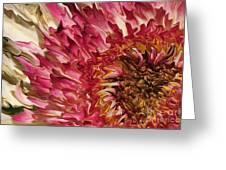 Flower Art Greeting Card