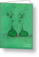 Flower Bells Greeting Card
