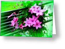 Flower Bouquets Greeting Card