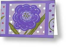 Flower Children Greeting Card