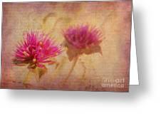 Flower Memories Greeting Card