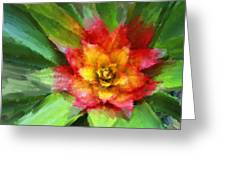 Flower Of The Tropics Greeting Card