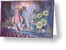 Flowerpotman Greeting Card