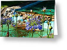Flowers Greeting Card by Jenny Senra Pampin