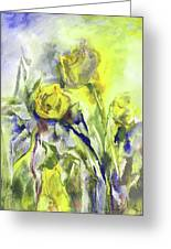 Flowery Abstraction Greeting Card