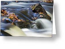 Flowing River IIi Greeting Card