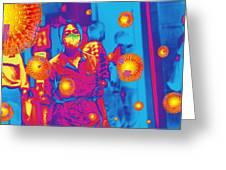 Flu Pandemic, Artwork Greeting Card