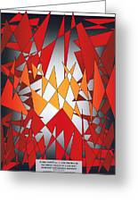 Flying Carpet Two Cor Crucibulum Greeting Card