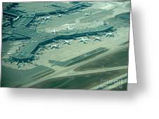 Van Interntaional Airport Greeting Card