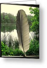 Flying With Beauty Greeting Card