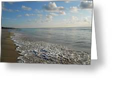 Foamy Seas Greeting Card