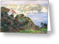 Fog On Guernsey Greeting Card
